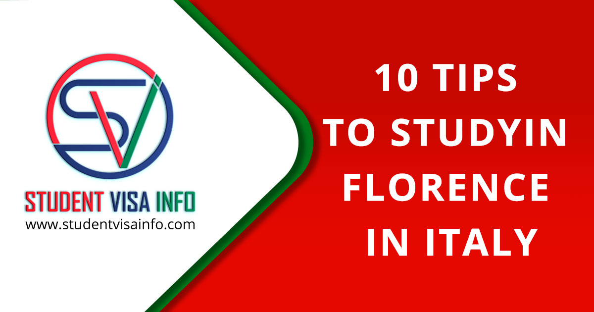 10 Tips to study in Florence, Italy